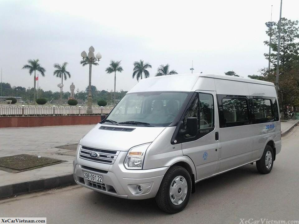 Rent Ford Transit 16 seats - Xe Car Vietnam